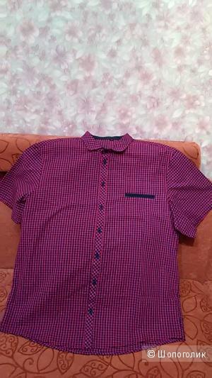 Рубашка мужская новая, на праздник, 56 размер