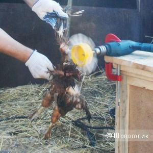 Фермер ёрш НП 01 универсальная перосъёмная насадка на дрель для ощипывания пера и пуха дикой птицы