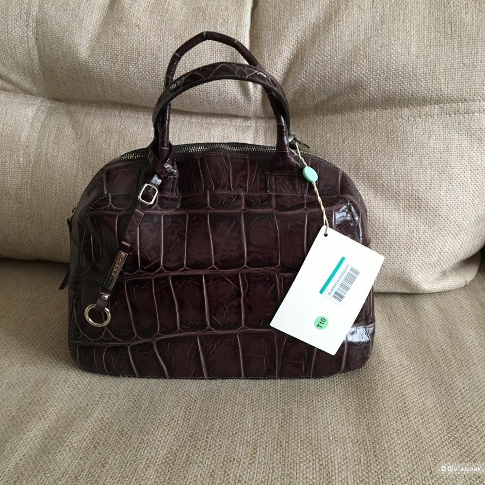 Кожаная сумка Nicoli