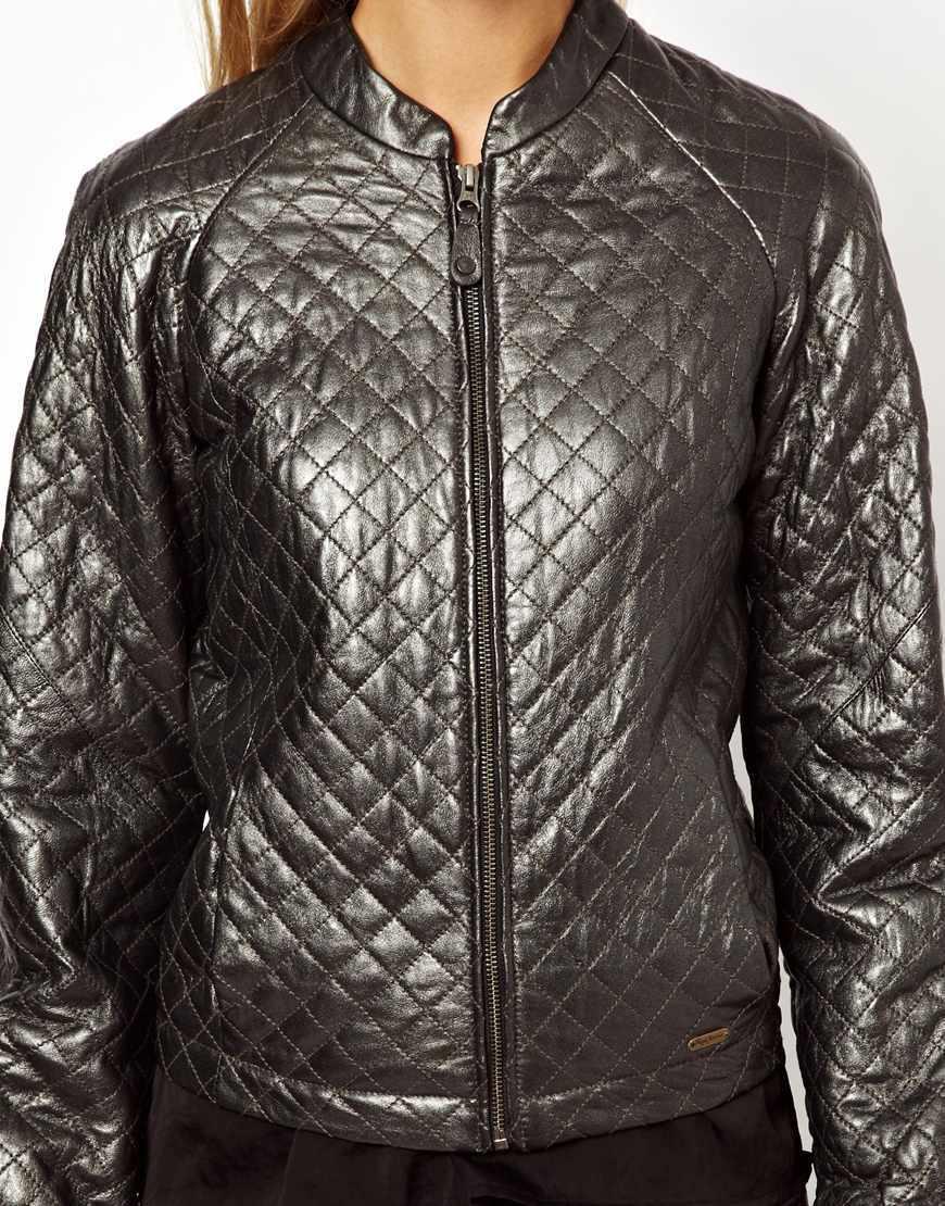 Кожаная куртка Pepe Jeans, новая