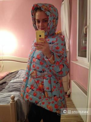 Новая зимне-теплая куртка, размер 42, дизайнера ДушеГрея