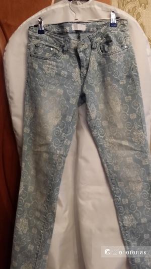 Новые джинсы YOU&YOU Италия 44-46 размер голубые
