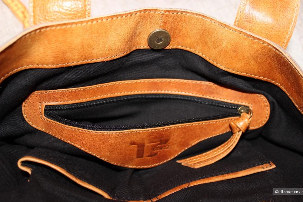 Новая кожаная сумка. Большой размер. GOERTZ,  Германия.