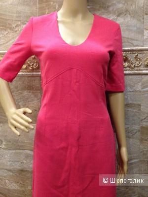 Шикарное коралловое платье от HUGO BOSS р.44
