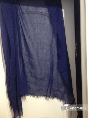 Летний шарф Uniqlo хлопок-лен