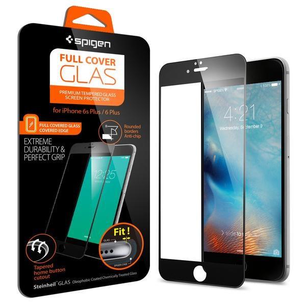 Защитное стекло на iphone 6 (6S) plus