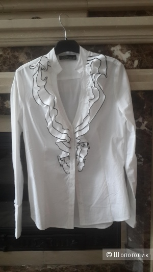 Красивая новая блуза с рюшами Love Repablic 46 разм.