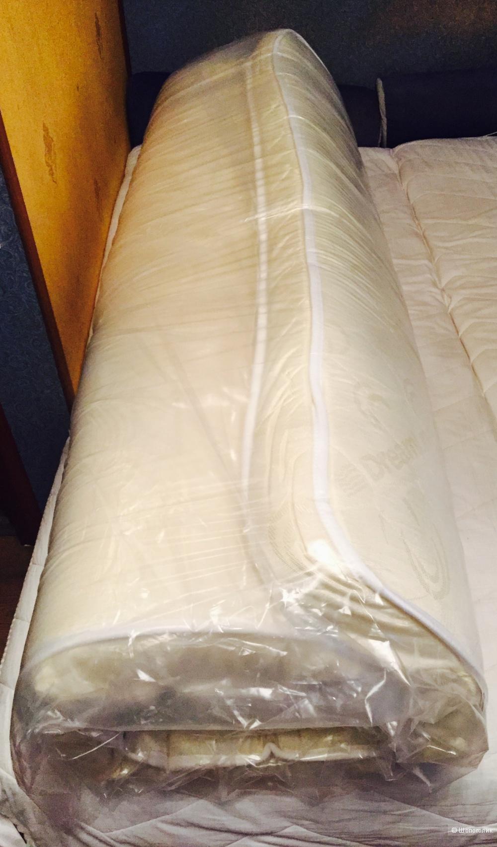 Матрас DREAMLINE беспружинный на диван, раскладушку 160х195 новый.