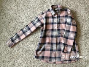 Фланелевая рубашка UNIQLO XS