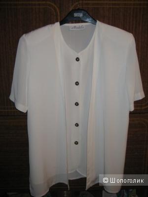 Блузка белая сделано в Англии