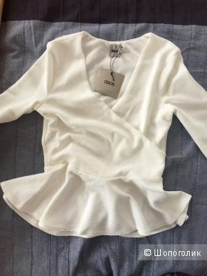 Новая блузка с баской ASOS