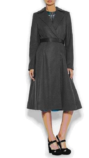 Шерстяное пальто в стиле new look, размер S