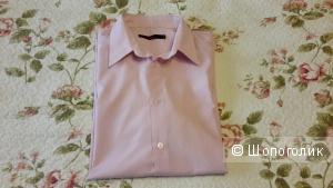 Рубашка мужская Zolla б/у розовая размер XXL