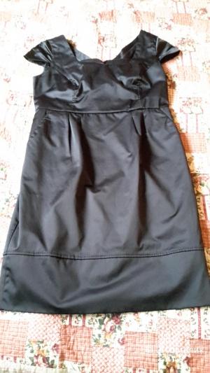 Красивое маленькое черное платье Zarina размер 48, можно на переходный 48-50 б/у 1 раз