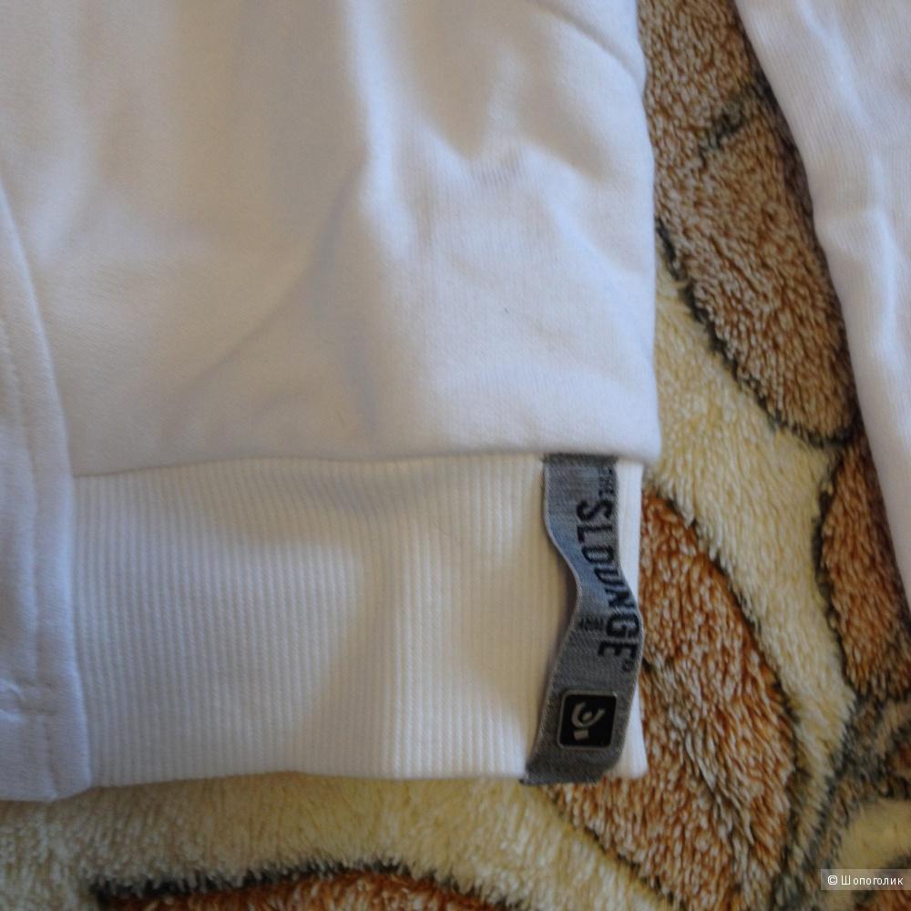 Толстовка на молнии, FREDDY, белого цвета, новая с этикетками, размер S