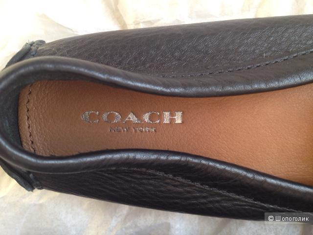 Мокасины Coach новые, в магазине Другой магазин — на Шопоголик 9a75e0a819f