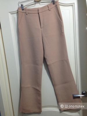 Бежевые брюки JO NO FUI из шерсти, 44IT