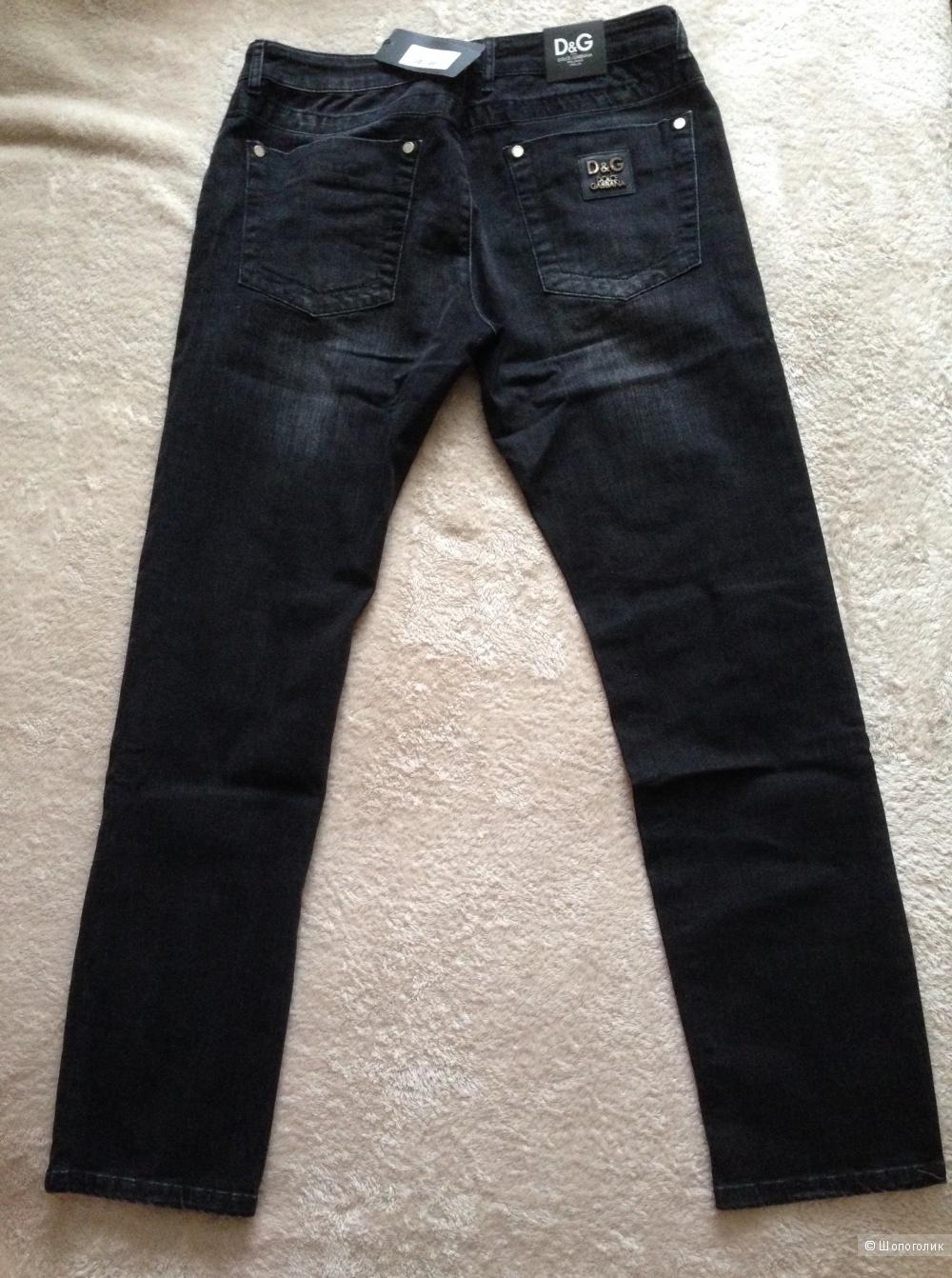 Новые мужские джинсы р.36