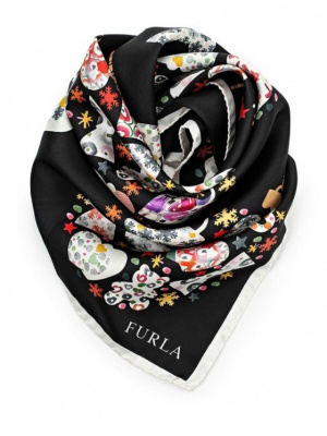 Платок шелковый Furla