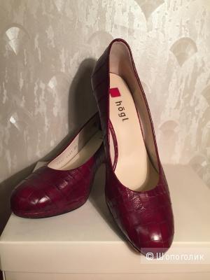 Красные женские туфли Hogl, размер 37-38