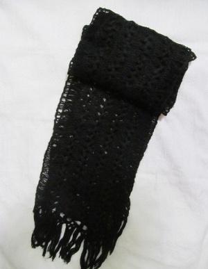 Шарф шерстяной handmade
