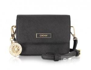 Маленькая чёрная сумочка кросс-боди DKNY + подарок