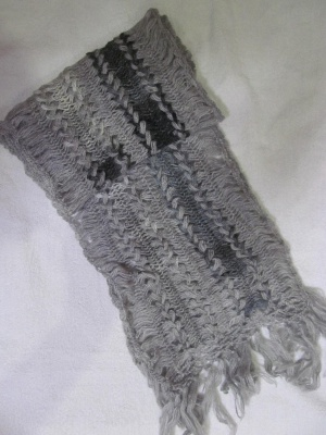 Шарф шерсть handmade