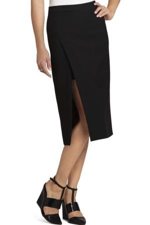 Новая черная юбка Bcbgmaxazria, оригинал, размер 46