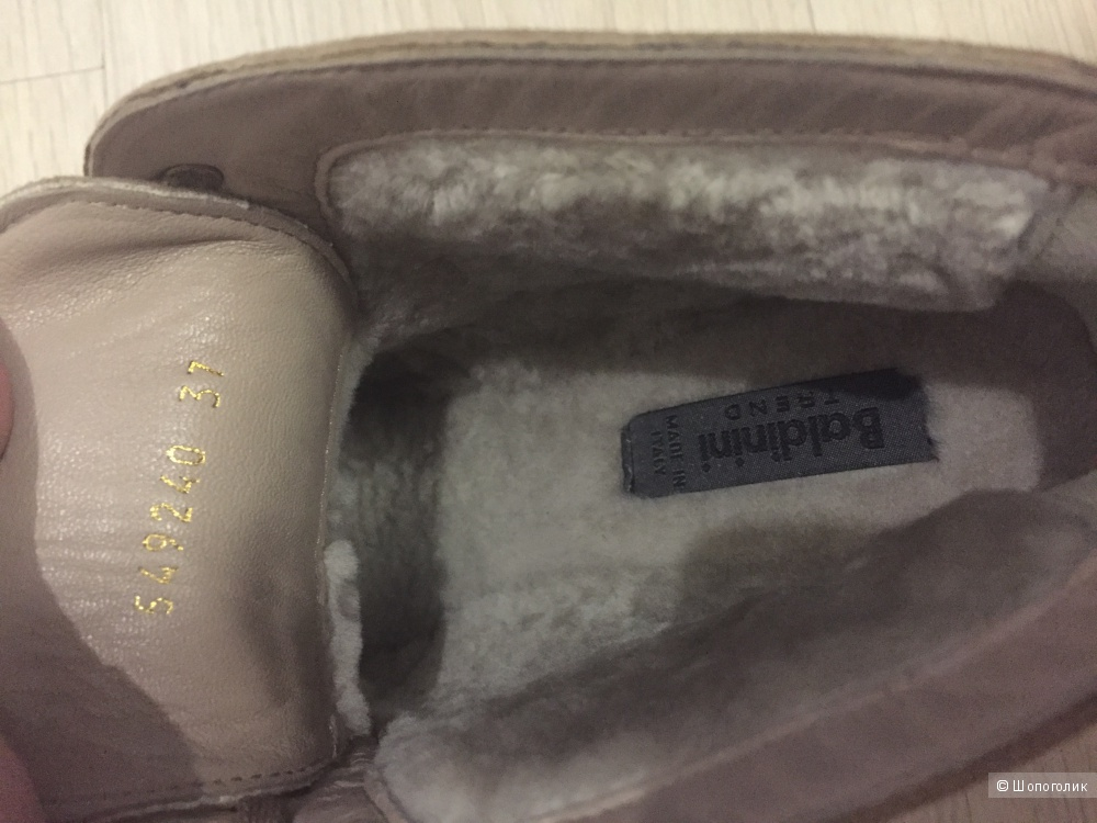 Ботинки зимние Baldinini 37 размер оригинал