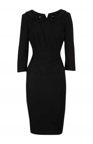 Деловое шерстяное платье Karen Millen, р. 42-44