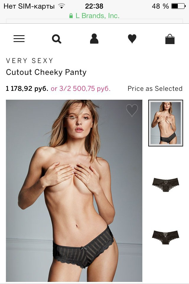 Белье Victoria's Secret оригинал