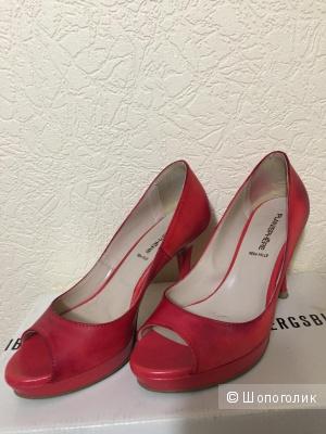 Туфли Pelle красные кожаные 35 размер