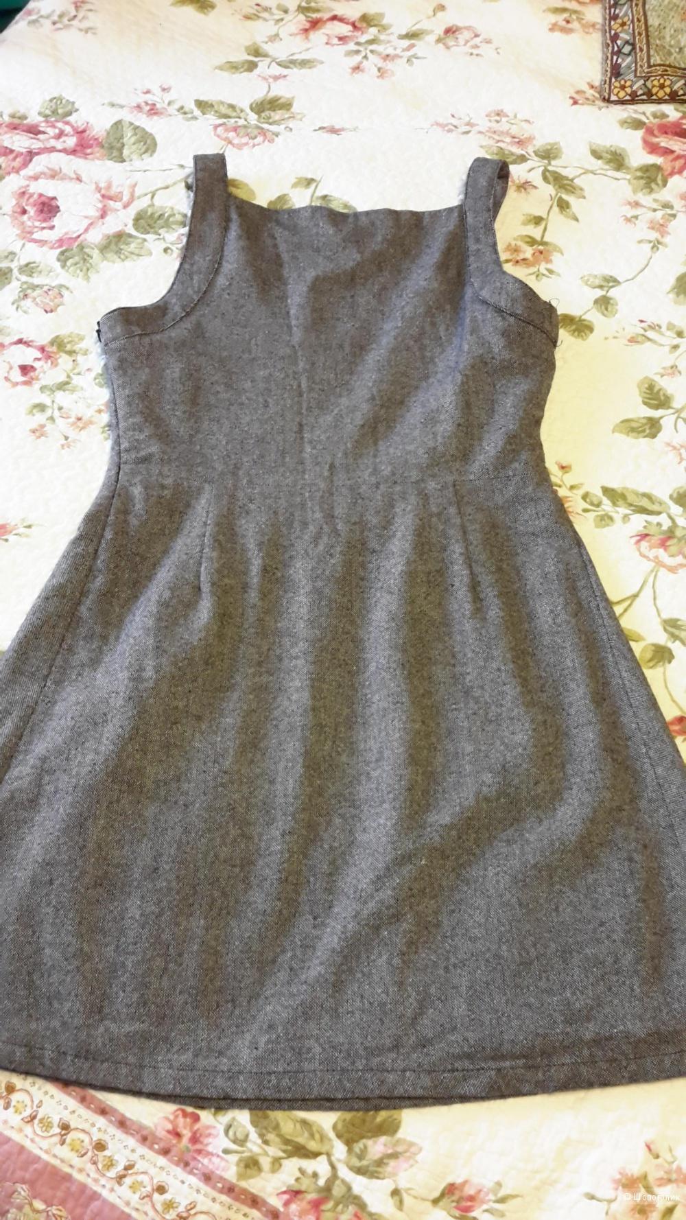 Платье с шерстью Pull&Bear размер 28 / М б/у