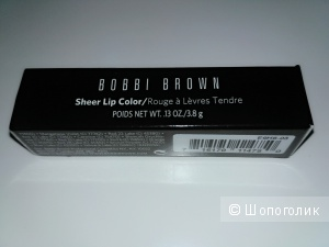 Новая помада-бальзам для губ Bobbi Brown Sheer lip color