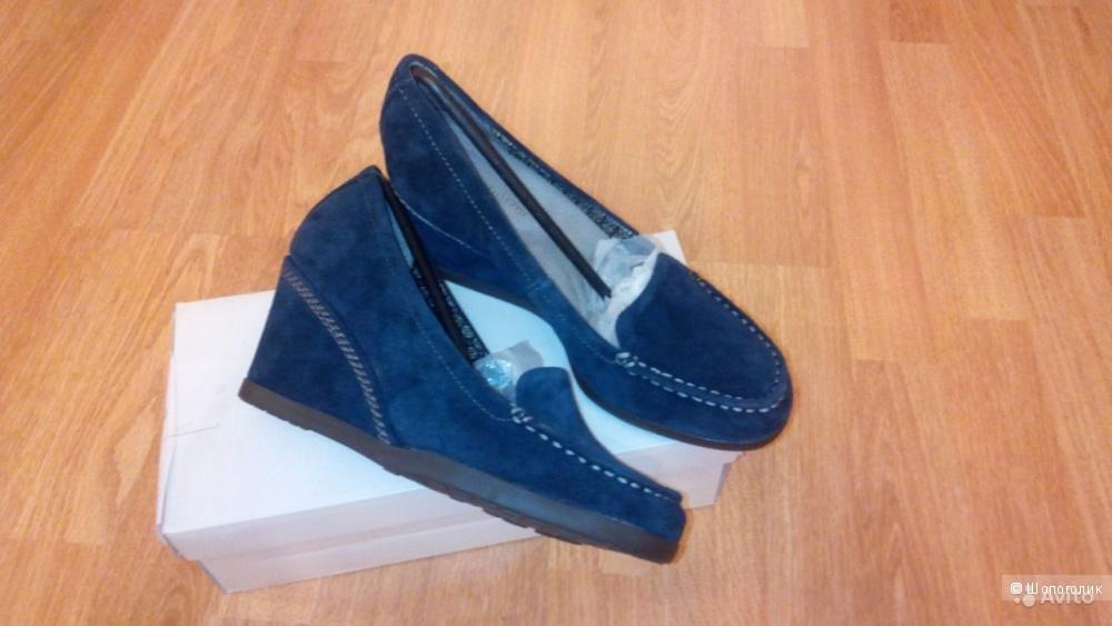 Туфли замшевые ф-ма Naturalizer 39 р.