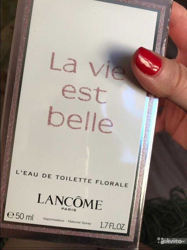 НОВАЯ туалетная вода La Vie Est Belle Florale от Lancome 50мл