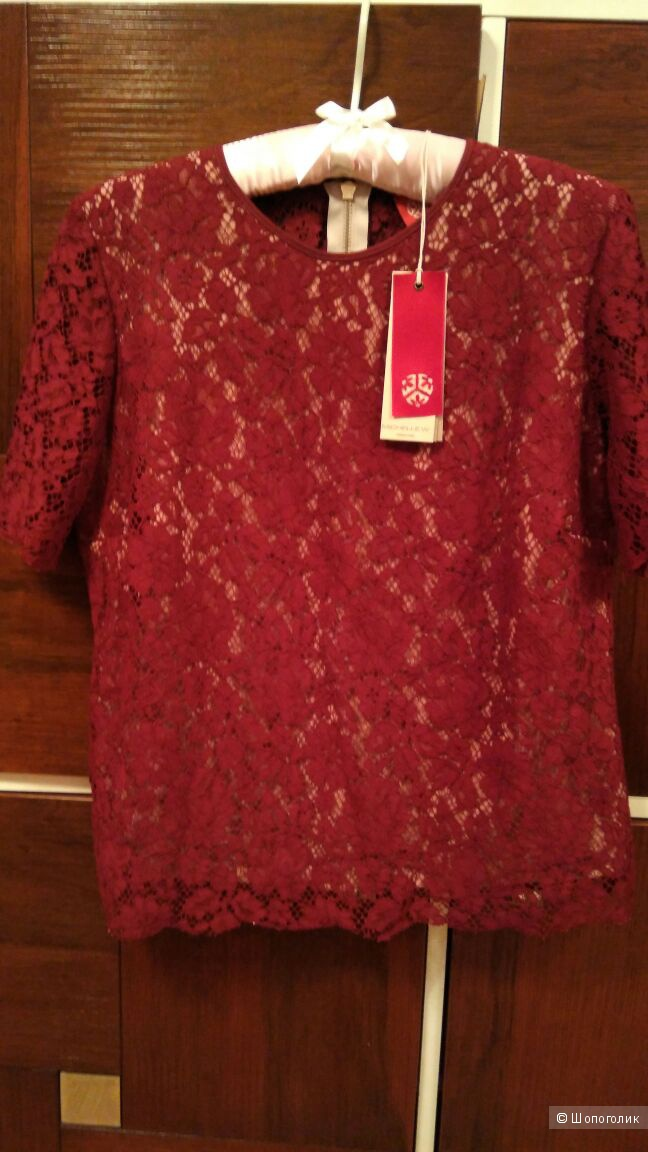 Кружевная блузка с УООХ на 50р-р