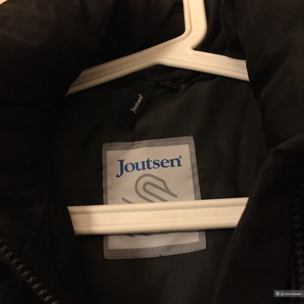 Финский пуховик Joutsen размер S идет на М полный.