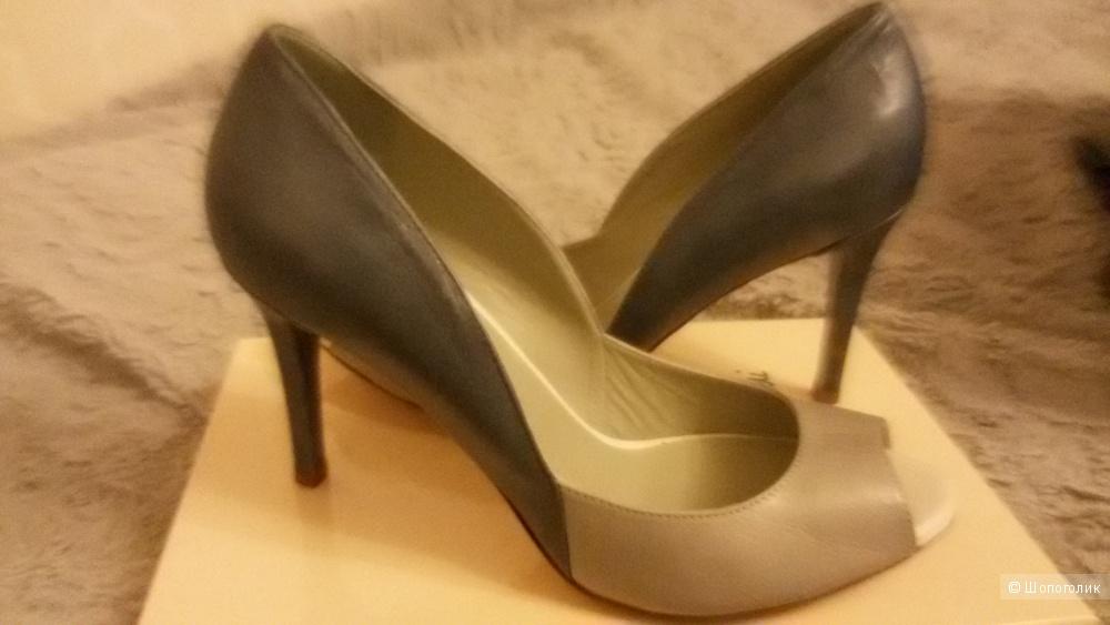 Шикарные туфли EMANUELA PASSERI 40 размер