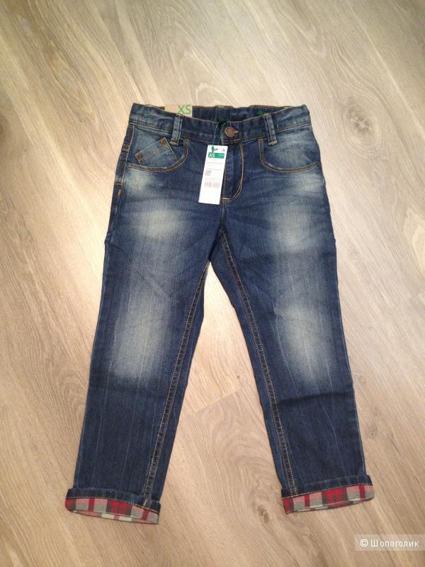 BENETTON курточка и джинсы НОВОЕ!