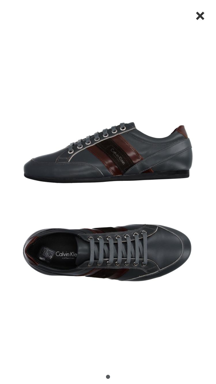 Кожаные кроссовки Calvin Klein 41 размер