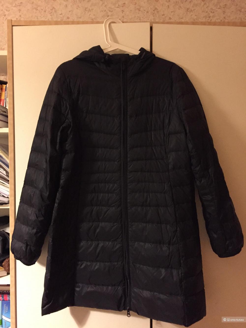 Пуховик легкое пальто NOOM размер 38 на наш 46.