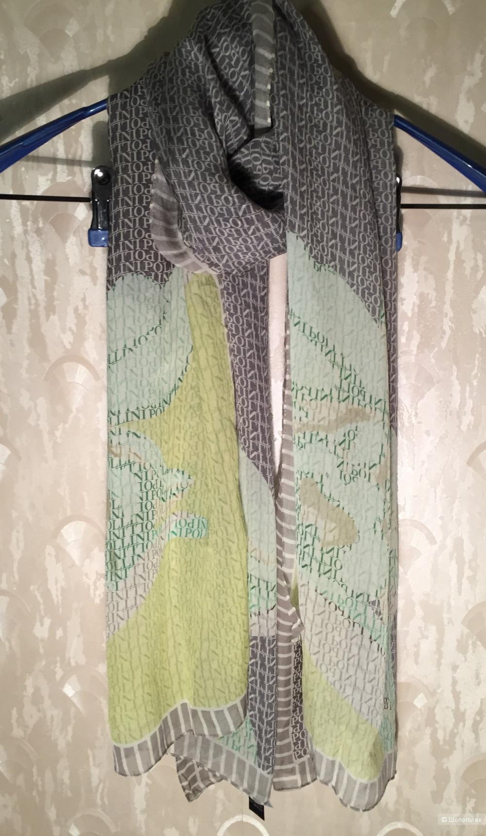 Шелковый шарф Pollini оригинал