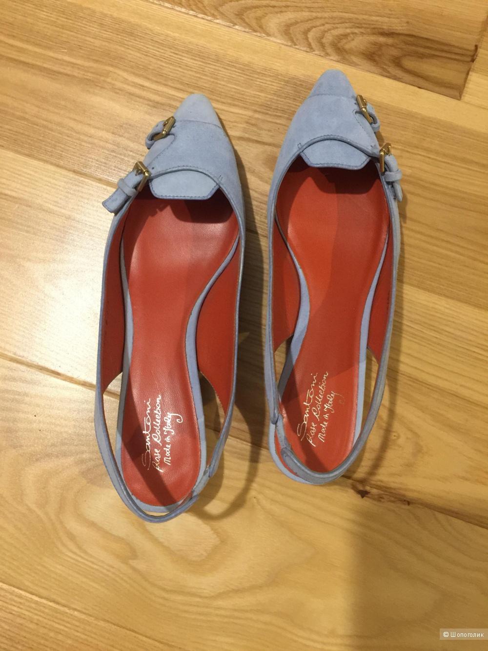 Продам туфли Santoni,новые!