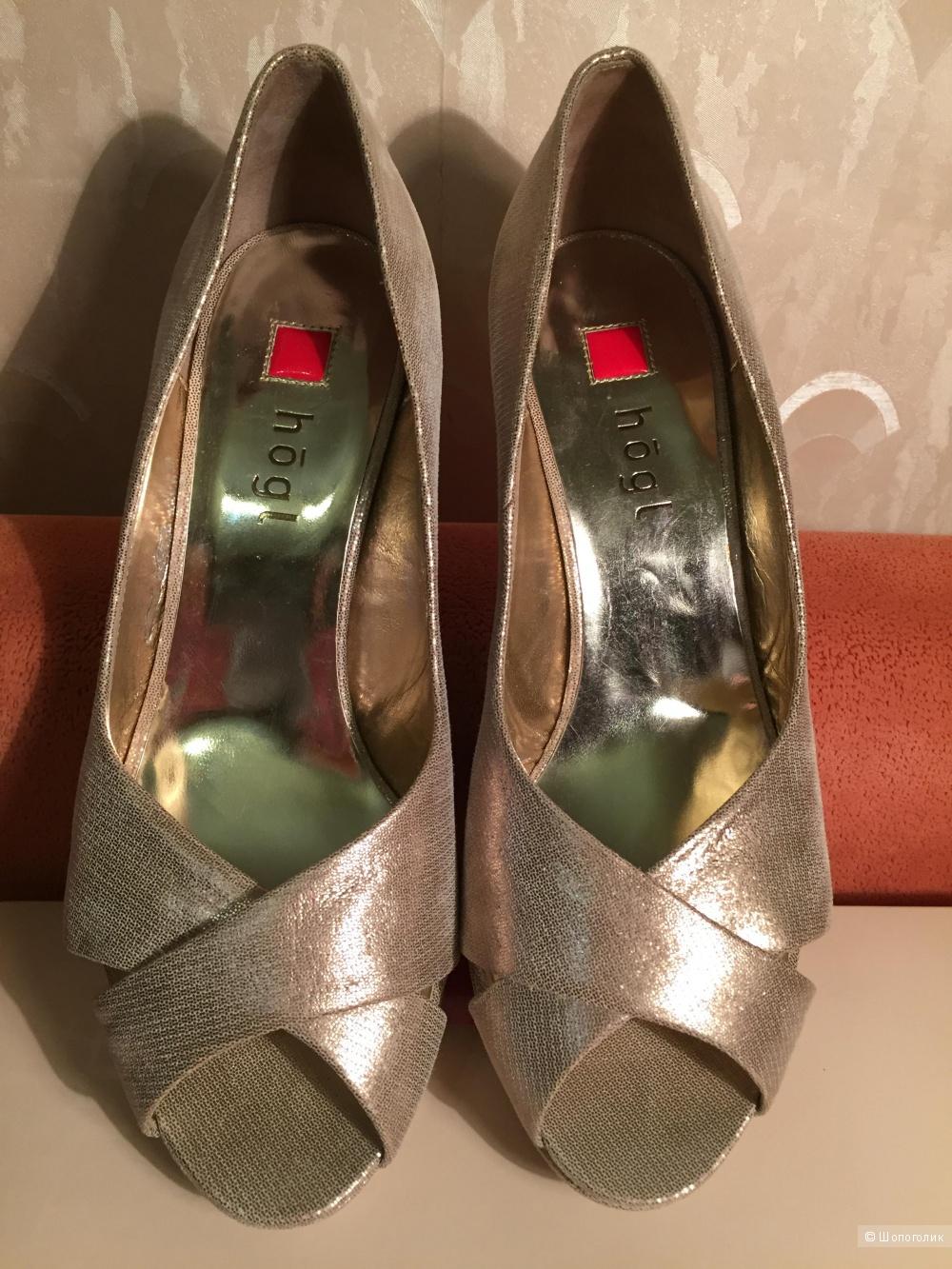 Золотистые туфли Hogl, размер 37