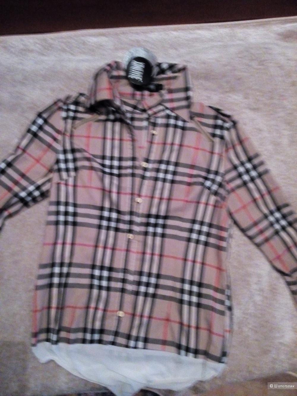 Рубашка-боди а-ля Burberry