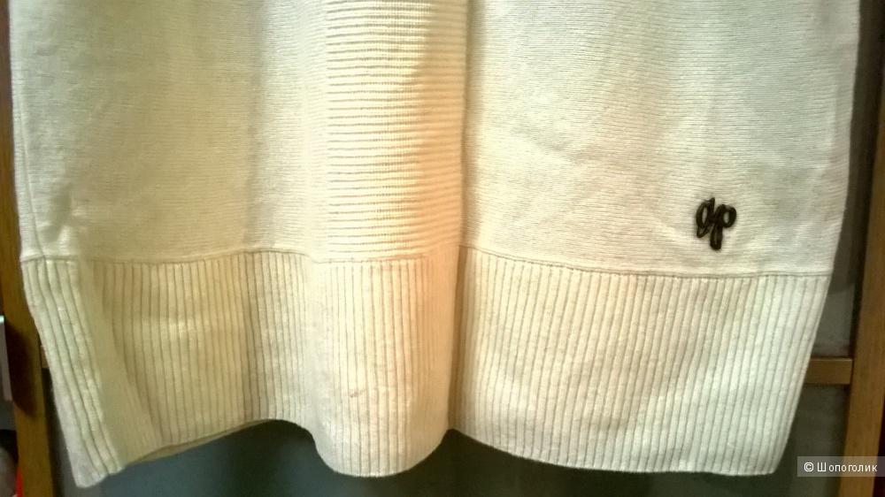 Туника - свитер - платье  50% Шерсть 44 размер