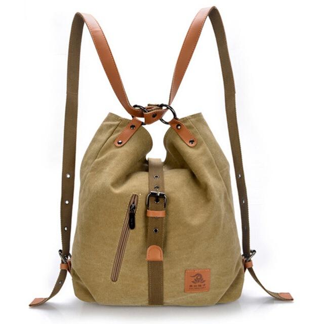 Сумка-рюкзак FULARUISH, холст