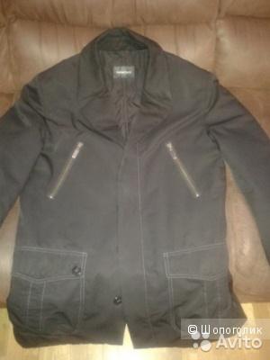 Мужская утепленная куртка 50 размера Parmiciani