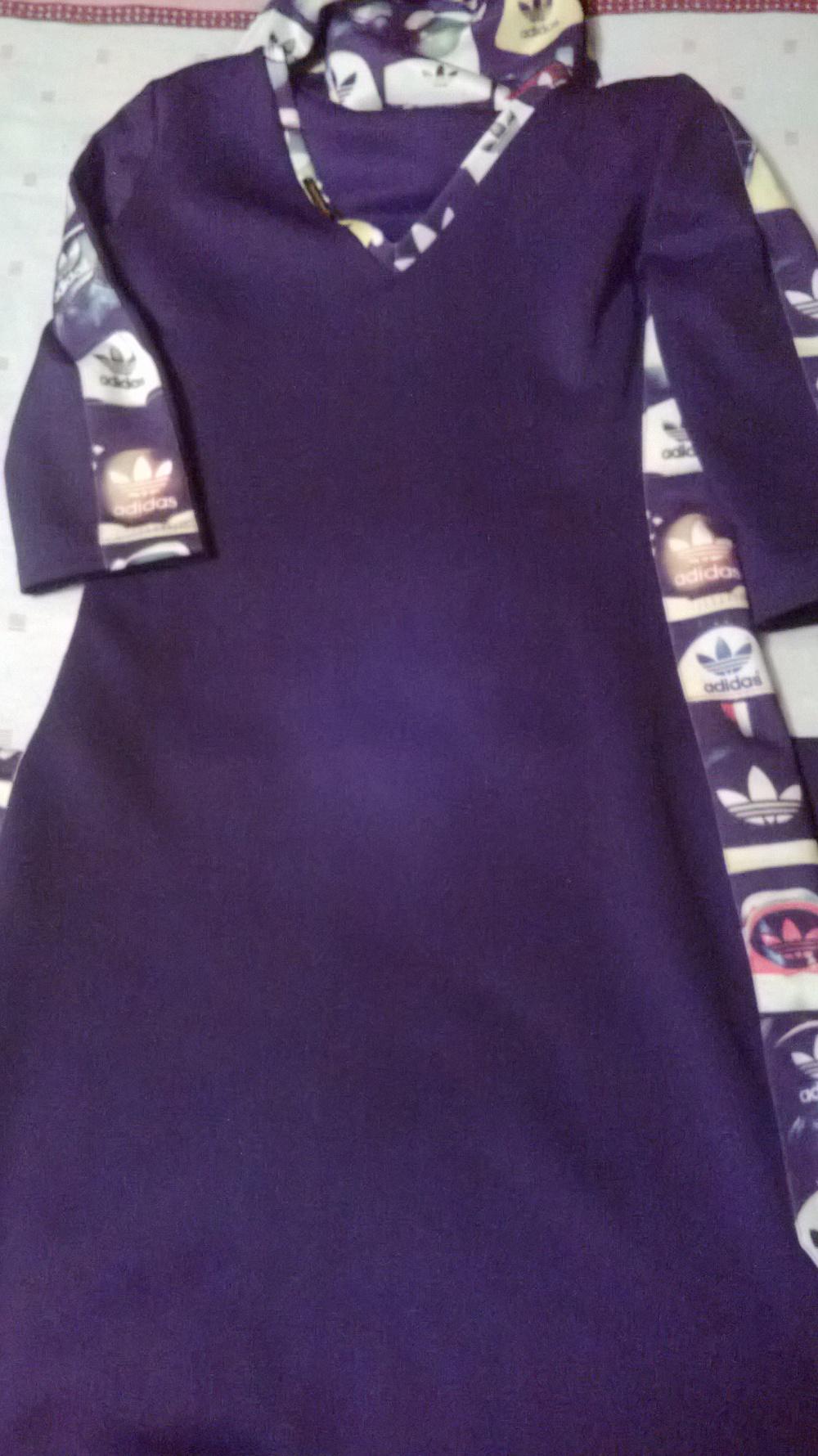 Дизайнерское платье Адидас